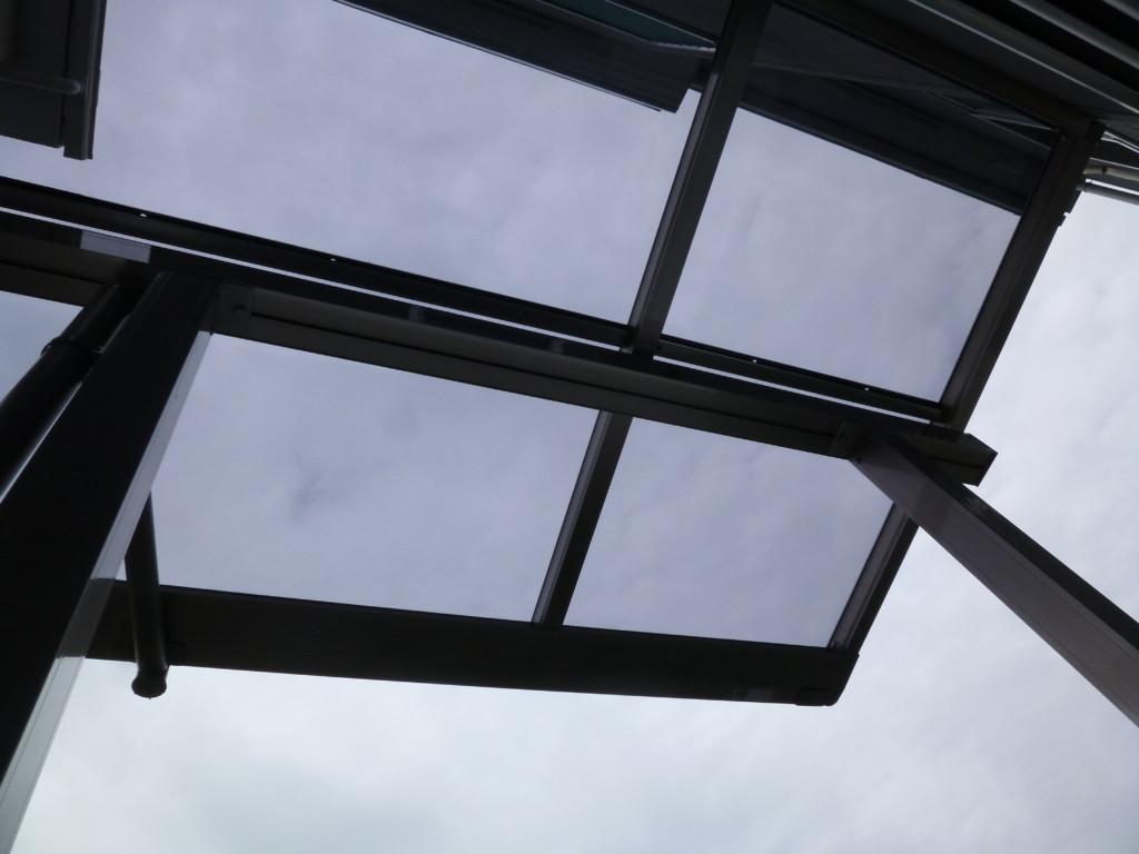 ベランダ テラス屋根設置 (四国化成・バリューテラスE フラットタイプ)