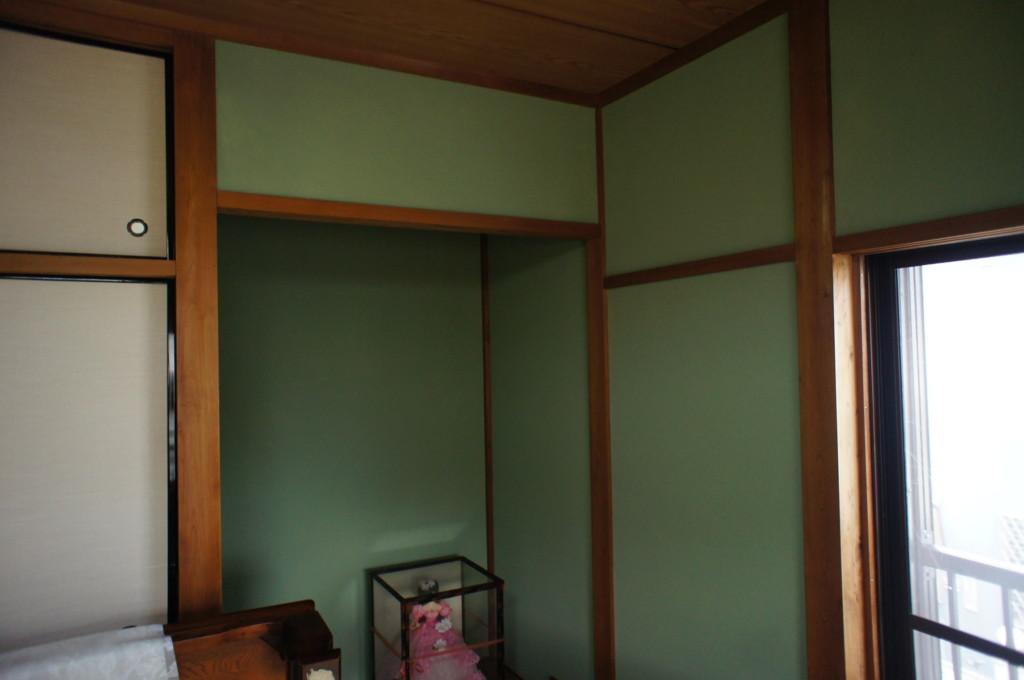 住宅 砂壁リフォーム