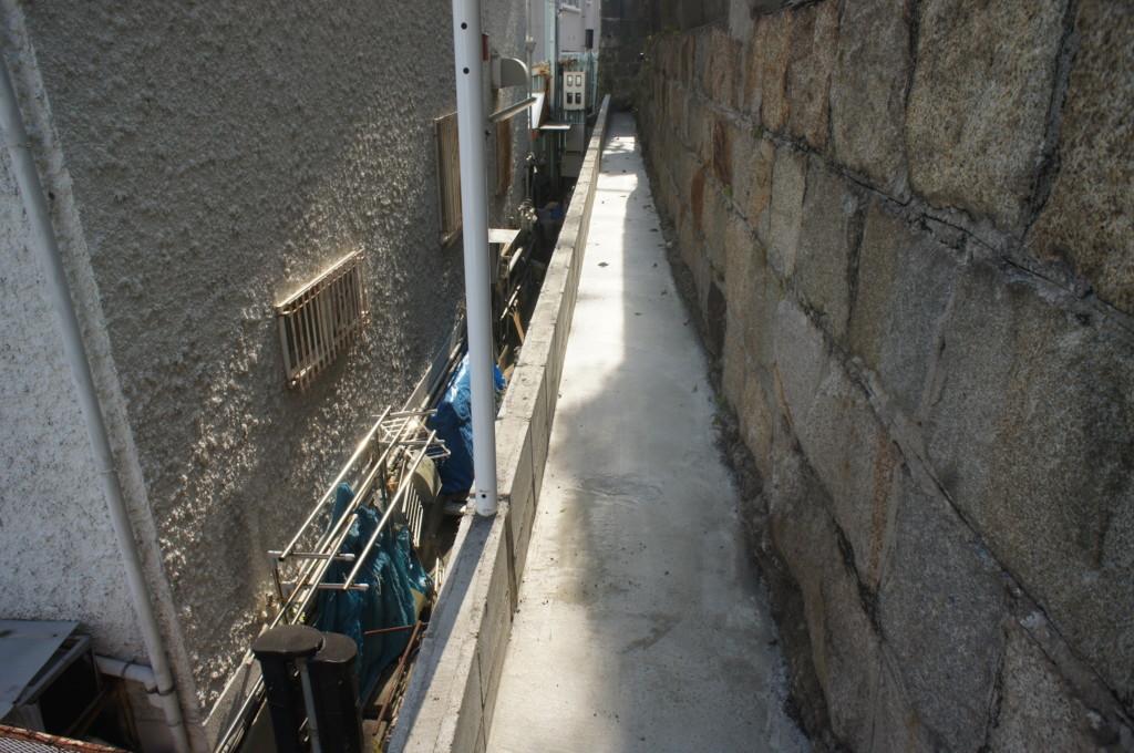 ブロック積み・土間コンクリート施工