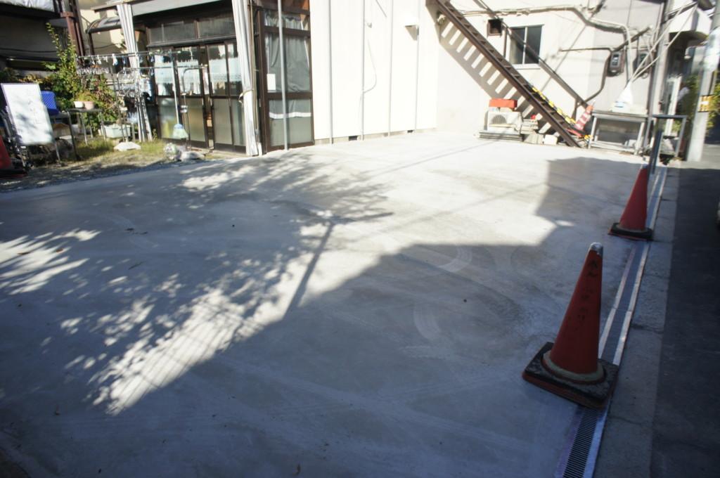 駐車場 コンクリート施工