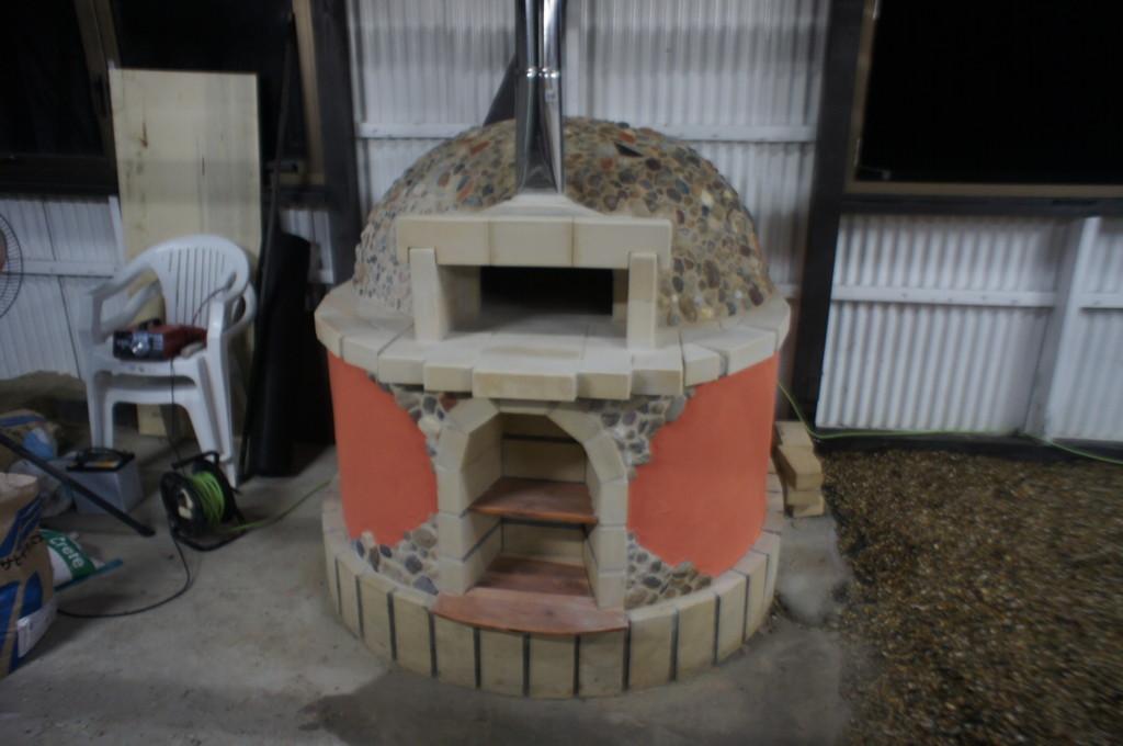 ピザ窯(かまど)造り他