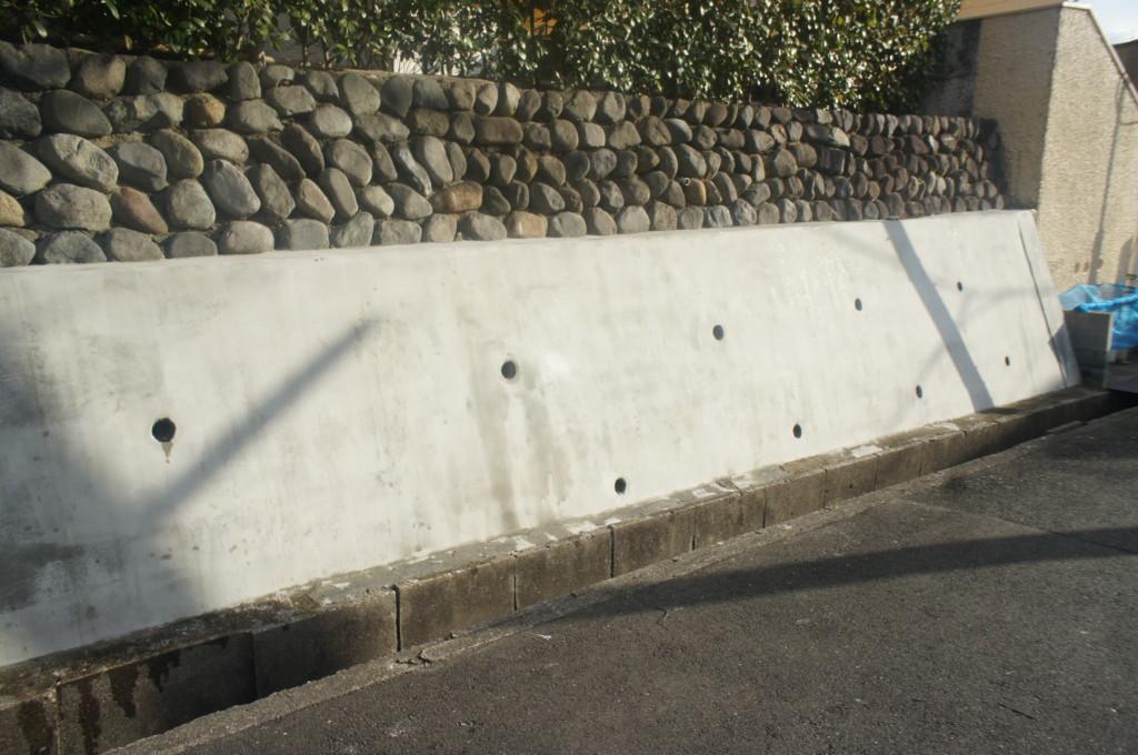 外壁補修 (軽量モルタルでモルタル仕上)