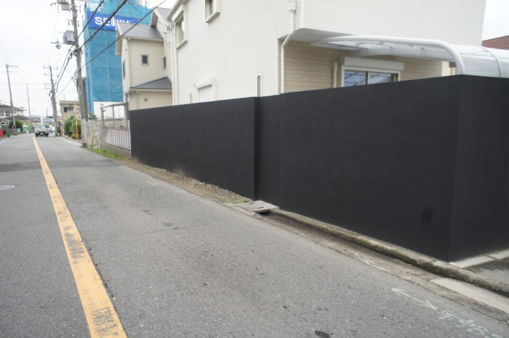 ブロック塀積み替え・ジョリパット施工