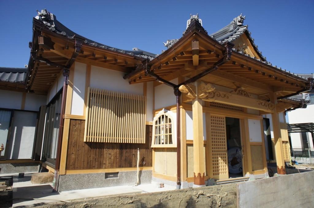新築外壁漆喰施工(荒壁塗り)