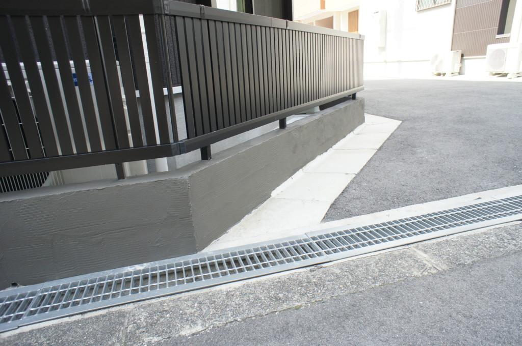 ブロック塀リフォーム(既存ブロックの上からジョリパットα施工)