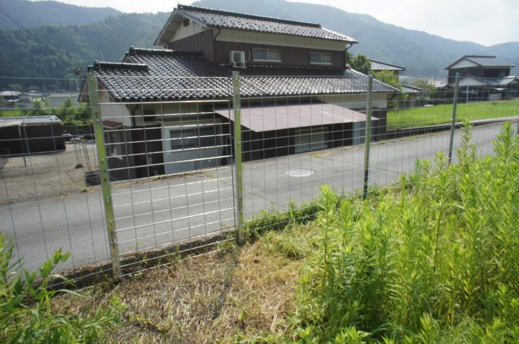 防護柵設置(松井金網工業・MKネット まもるくん)