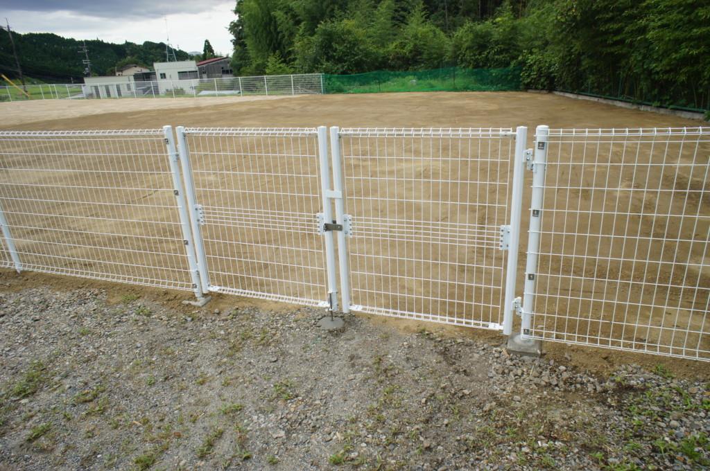 フェンス設置・整地