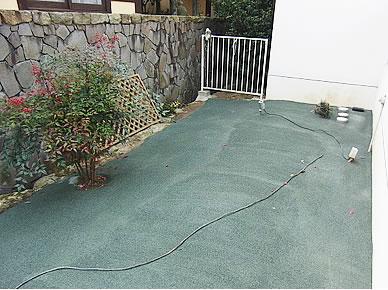 自然土 固める土施工 環境に優しく、雑草対策に ~6,000円/m²