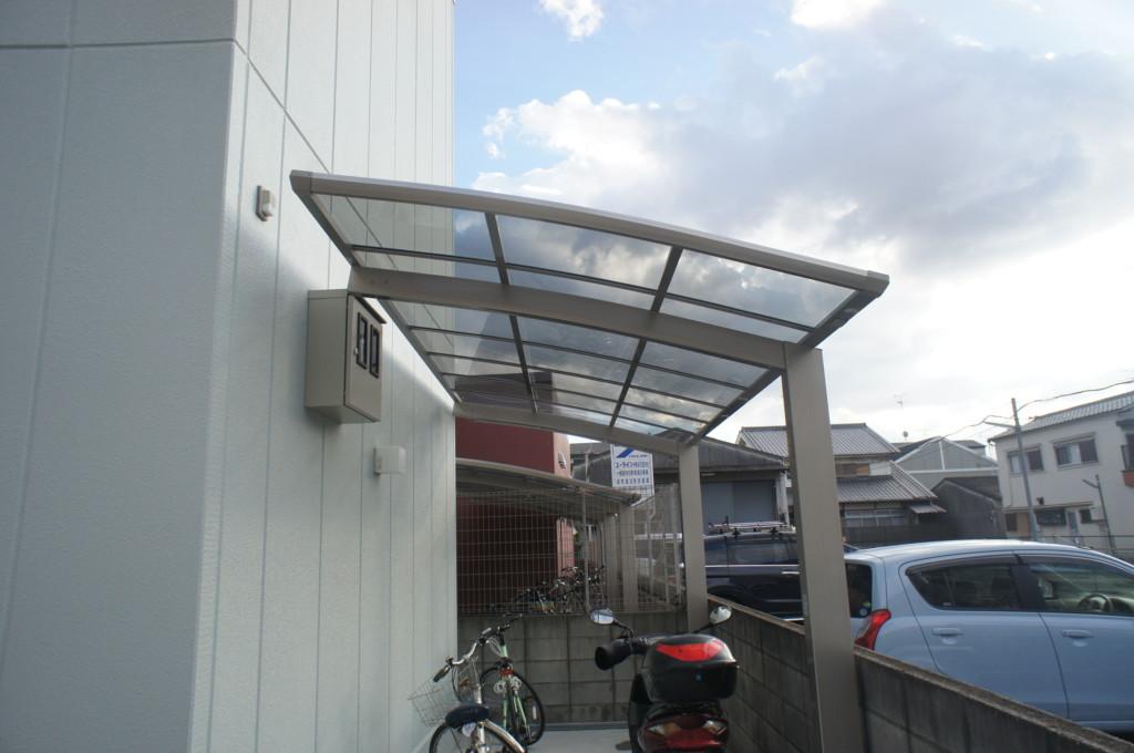 カーポート設置(四国化成・バリューポートミニ)