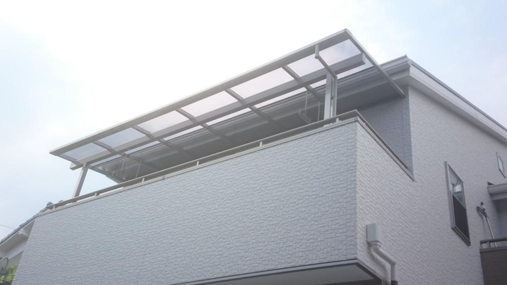 ベランダ テラス屋根 (四国化成・バリューテラスE・Fタイプ)