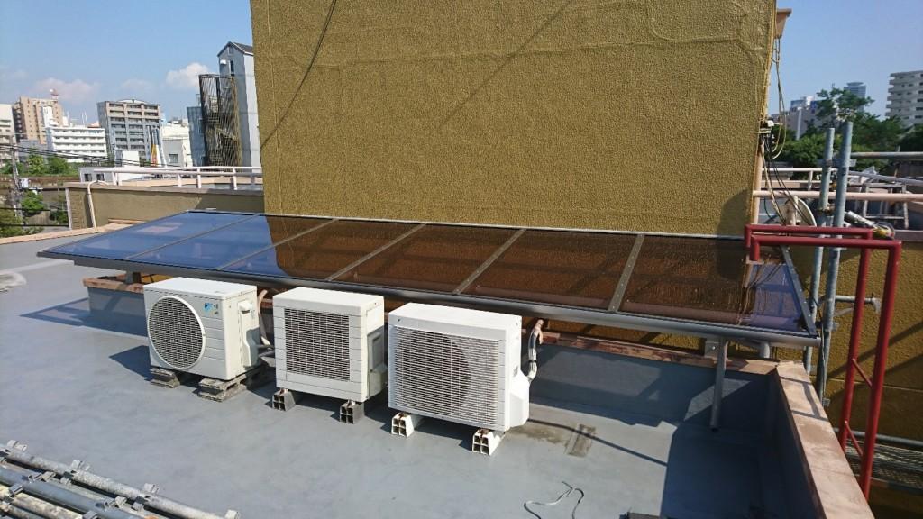 テラス屋根設置