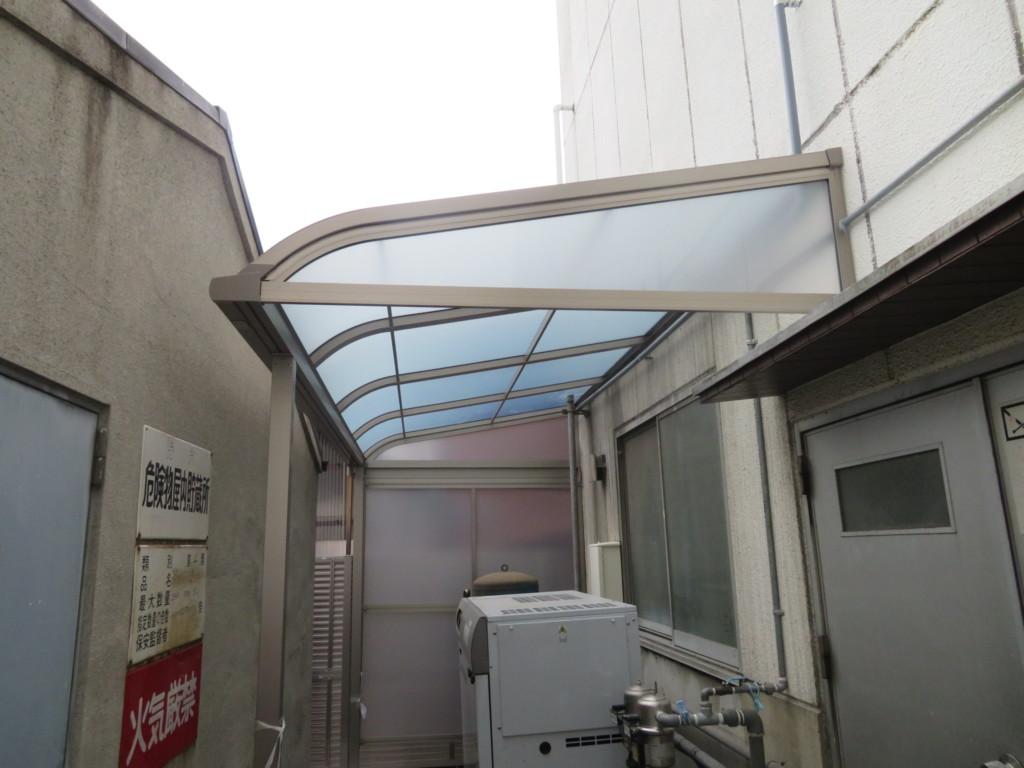 テラス屋根設置工事