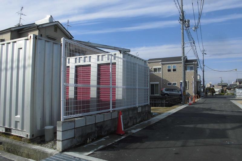 朝日スチール・UNフェンス設置工事