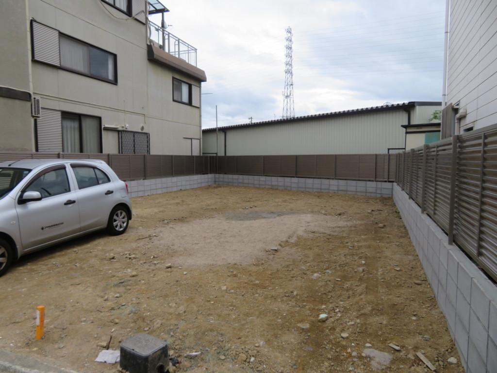 ブロック塀4段設置・ルーバーフェンス設置