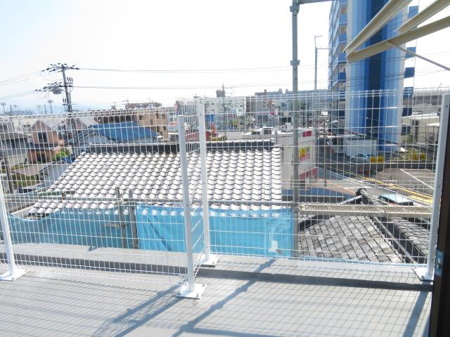 屋上・メッシュフェンスG10設置工事