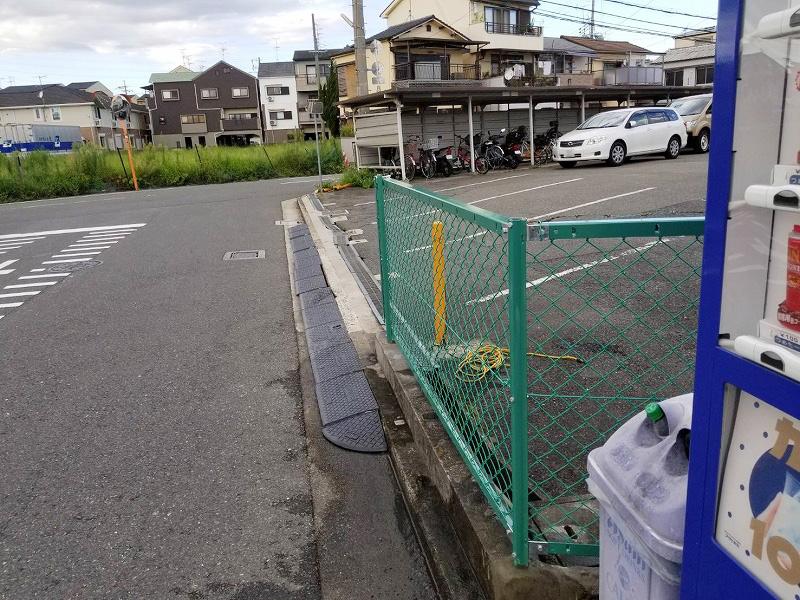 ネットフェンスH1000取替工事