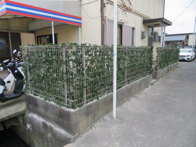 ブロック塀撤去・メッシュフェンス設置
