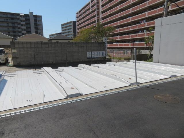 機械式駐車場・塗装工事
