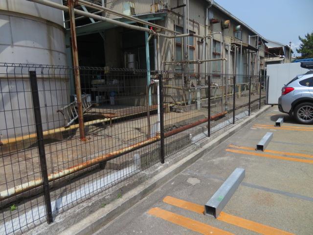 コンクリート塀(ブロック塀)撤去・メッシュフェンス設置工事